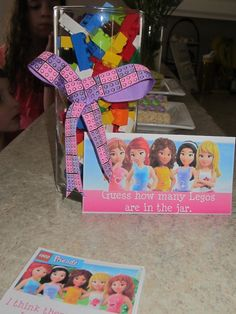 Party at the Beech: Emily's Lego Friends Birthday Party Lego Friends Birthday, Lego Friends Party, Lego Friends Sets, Lego Themed Party, Lego Birthday Party, 4th Birthday Parties, 9th Birthday, Birthday Ideas, Lego Girls