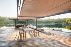 Private Boathouse / Weiss Architecture & Urbanism Limited