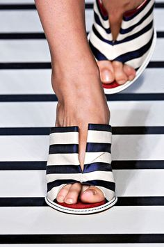 Fendi Spring 2012 RTW - Review - Collections - Vogue nautical