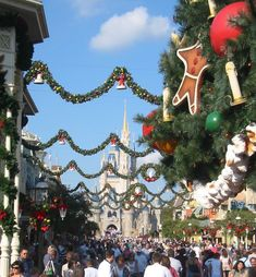 Disneyworld around Christmas time :)  I think we should do this one year @Marci @Stefanie Delzer