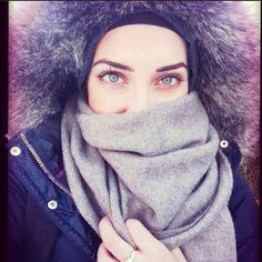 Muslima hijab fashion street yeaa