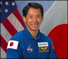 image credit: NASA Mamoru Mohri (spelling used on NASA site) was Japan's first astronaut on STS-47, Spacelab-J, a cooperative venture between the United States and Japan, September 12-20, 1992. Th…
