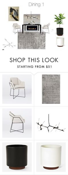 """""""dining1"""" by farahpro on Polyvore featuring interior, interiors, interior design, home, home decor, interior decorating, Surya and BLVD Supply"""