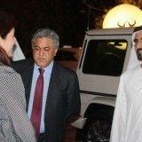 H.H. Sheikh Mohammed bin Rashid Al Maktoum, Vice President and Prime Minister of the UAE and Ruler of Dubai visits Art Dubai