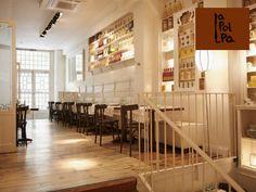 Resultat d'imatges de shabby chic restaurants la polpa