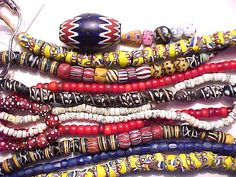 Image detail for -African trade beads