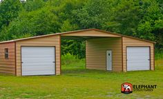 Our straight roof barns are a durable and reliable choice for your barn building needs. We are the leading manufacturer of continuous roof barns and kits. Metal Barn, Metal Roof, Barn Wood, Farm Shed, Barn Kits, Steel Barns, Agricultural Buildings, Barn Pictures, Carport Designs
