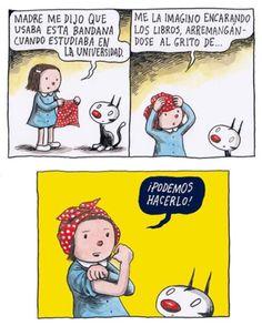 Enriqueta Albus Dumbledore, Love Deeply, Postmodernism, Modern Man, Funny Comics, Doodles, Cartoon, Words, Illustration