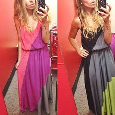 Maxi dress by mossimo $29.99. love it in both colors! // #targetdoesitagain