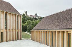 BQ+A Quirot/Vichard/Lenoble/Patrono architectes, Luc Boegly · Maison de santé à Vézelay. France · Divisare