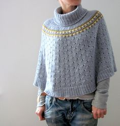 Ravelry: Indigo Frost pattern by Isabell Kraemer worsted 840m