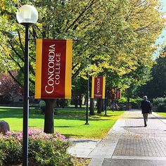 Fall day on campus·Concordia College
