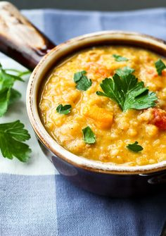 Red Lentil Soup Recipe - with a surprising ingredient!