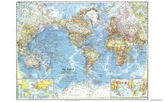 Details about world map exploration green trim wallpaper border world map 1960 wallpaper gumiabroncs Choice Image