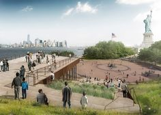 FXFOWLE reveals Statue of Liberty Museum for New York's landmark