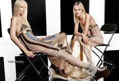 Vera Wang features embellished slip dresses in fall-winter 2016 campaign