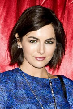New Celebrity 'Do Inspo! 19 Blunt Cuts to Copy via Brit + Co.