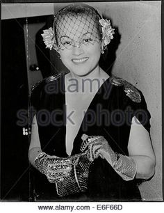 Actress Adina Mandlova At Premiere Of Film - Stock Photo
