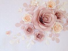 Collage del fiore di carta sopra presepe - fiore di carta di parete Nursery set - Chic Boho vivaio Fiori di carta di MioPaperArt su Etsy https://www.etsy.com/it/listing/508345785/collage-del-fiore-di-carta-sopra-presepe