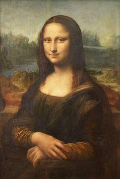[フリー絵画素材] レオナルド・ダ・ヴィンチ – モナ・リザ (1503 – 1505) ID:201303301500 - GATAG|フリー絵画・版画素材集