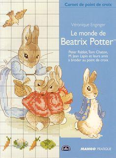 Amazing Beatrix Potter cross stitch patterns