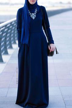 Blue Jersey scarf