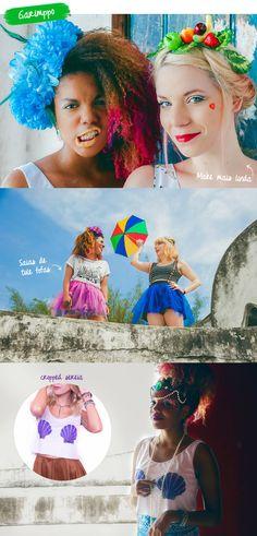 Inspirações de fantasias fáceis  de fazer para o carnaval