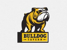 Logo Bulldog tavern by Gal Yuri