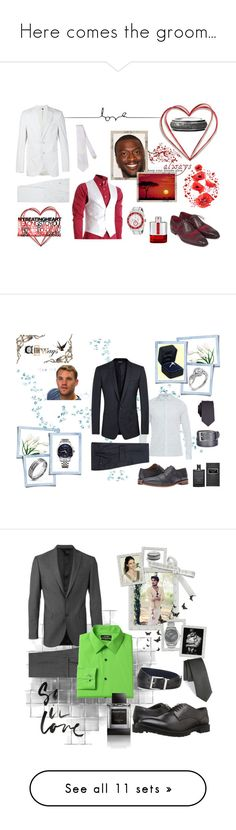 """""""Here comes the groom..."""" by boondock-saint1999 ❤ liked on Polyvore featuring Neil Barrett, Seapro, Prada, David Yurman, Brewster Home Fashions, men's fashion, menswear, Tiffany & Co., Gucci and Penguin"""