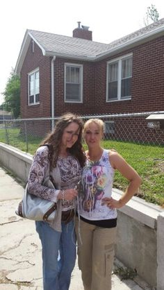 My sister in law and best friend Amber