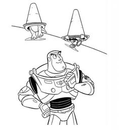 buzz lightyear printable coloring pages