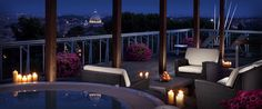 Planetarium Suite terrace
