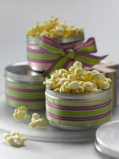 Lime Pickle Popcorn Snack Mix - Yield: About 2 1/2 quarts