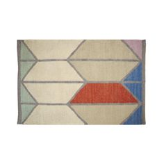 Shapes Dhurrie Rug - Small (matches picasso print?)