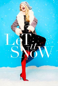 Glossed & Found_Holiday Fashion_let is snow - wonderful as alwaysssss directed by graham kostic