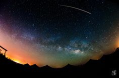 Sinai at night
