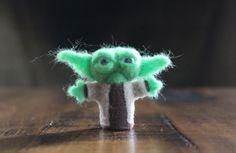 Mini personajes de Star Wars en fieltro