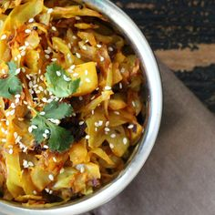 Vegan Richa: Piri Piri Cabbage and Potatoes. Vegan Indian Recipes, Veg Recipes, Gluten Free Recipes, Whole Food Recipes, Vegetarian Recipes, Cooking Recipes, Healthy Recipes, Healthy Food, Cabbage Recipes