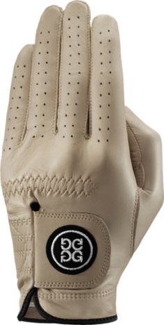 GFore Luxe Leather Sand Golf Glove