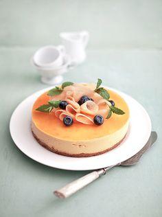 Gâteau à la mousse de melon / Melon mousse cake
