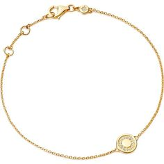 ASTLEY CLARKE Mini cosmos yellow gold and diamond bracelet ($550) ❤ liked on Polyvore featuring jewelry, bracelets, yellow gold bracelet, bracelet bangle, gold infinity bracelet, chain bracelet and gold bangles