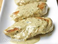 Chicken with Mustard Cream Sauce: this easy chicken dish, with a creamy mustard sauce, is on the table in about 20 minutes! No Carb Recipes, Cooking Recipes, Healthy Recipes, Dishes Recipes, Baked Chicken, Chicken Recipes, Smothered Chicken, Easy Sauce For Chicken, Chicken Sauce