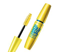Volum' Express The Colossal Waterproof Mascara provides worry-free, easy application and leaves most other waterproof mascaras in the dust. Unless you want ultra-thick lashes, you'll be impressed by the results from this Colossal, and it is waterproof as claimed. You will need more than a water-soluble cleanser to remove it.
