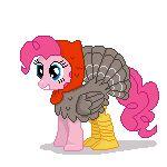My Little Pony gif | Autumn  / Thanksgiving | Turkey Pie Hoofstomp by TomDanTheRock.deviantart