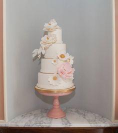 Tarta de boda de Dulce Roseta. Wedding cake. Foto: Estudionce Organización: Señor y señora de #bodassrysrade www.señoryseñorade.com