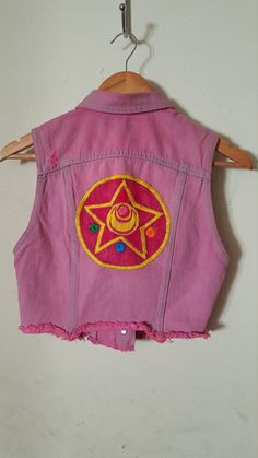 Hey, I found this really awesome Etsy listing at https://www.etsy.com/listing/264372949/sailor-moon-vest