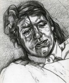 Beautiful, Evocative Lucian Freud Art Poster #Vintage