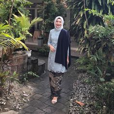 Kebaya Hijab, Kebaya Brokat, Batik Kebaya, Kebaya Dress, Kebaya Muslim, Muslim Dress, Muslim Wedding Dresses, Prom Party Dresses, Muslim Fashion