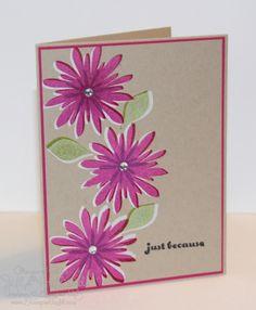 Jill's Card Creations: Flower patch Again