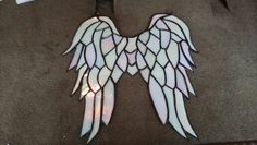 Angel Wings in memory of my coworkers son. 1st anniversary of his new life in Heaven.